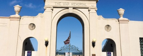 Waikiki Natatorium War Memorial as it looks today. It has just been named a National Treasure by the National Trust for Historic Preservation on the heels of demolition vs. preservation plans here | Photo courtesy Sandra Sagisi